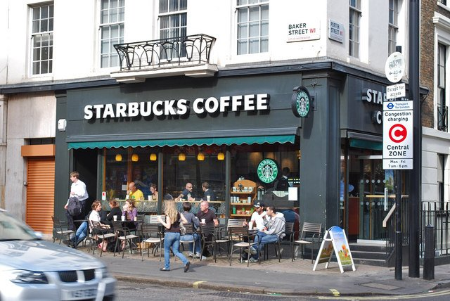 starbucks london baker street
